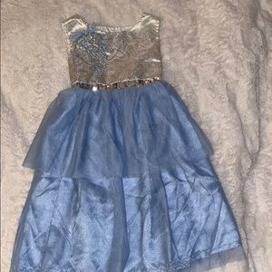 Disney dress up 5t girls Cinderella costume outfit